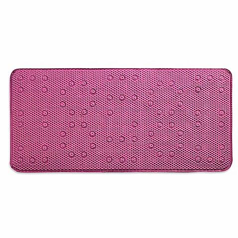 Buy Waffle Weave Foam 17 Inch X 36 Inch Tub Mat In