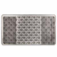Rain 17-Inch x 30-Inch Tub Mat in Grey