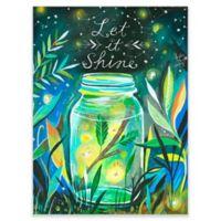 "GreenBox Art Murals That Stick 18-Inch x 24-Inch ""Let it Shine"" Wall Art"