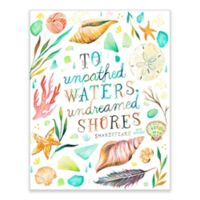 GreenBox Art 28-Inch x 35-Inch Undreamed Shores Posters That Stick Wall Decals