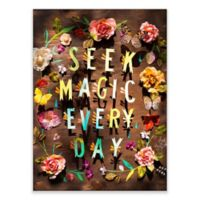 Posters That Stick Katie Daisy Seek Magic 18-Inch by 24-Inch Wall Art