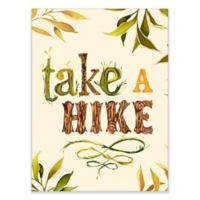 GreenBox Art 18-Inch x 24-Inch Take a Hike Posters That Stick Wall Decal