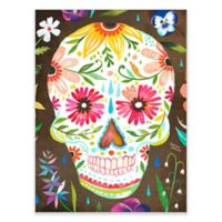 Posters That Stick Katie Daisy Sugar Skull 18-Inch by 24-Inch Wall Art