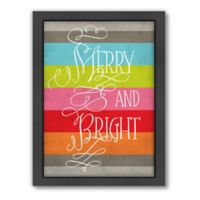 "Americanflat ""Merry and Bright"" by Jill Broadhacker Wall Art"