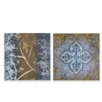 Madison Park Velvet Impressions Canvas Wall Art (Set of 2)