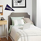 Silverwood The Powered Twin Headboard in Light Grey