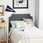 Silverwood The Powered Twin Headboard in Charcoal