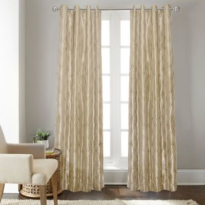 Buy Champagne Curtain Panels From Bed Bath Amp Beyond
