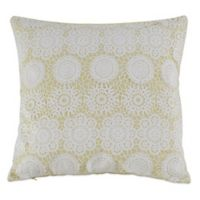 Kensia Laramie 20-Inch Square Throw Pillow in Lime