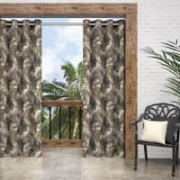 Parasol Key Biscayne 84-Inch Grommet Indoor/Outdoor Window Curtain Panel in Natural