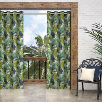 Parasol Key Biscayne 84-Inch Grommet Indoor/Outdoor Window Curtain Panel in Indigo