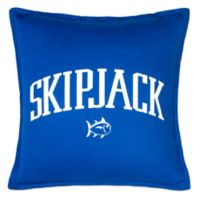 Southern Tide® Chino Americana Skipjack Square Throw Pillow in Blue