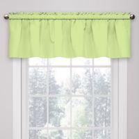 Solar Shield® Microfiber Rod Pocket Window Valance in Green