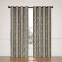 SolarShield® Naomi 108-Inch Blackout Window Curtain Panel in Black
