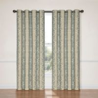 SolarShield® Naomi 108-Inch Blackout Window Curtain Panel in Smokey Blue