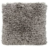 Mina Victory Finger Yarn Square Throw Pillow in Grey