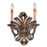 Metropolitan Home 2-Light Wall Sconce in Oxide Brass