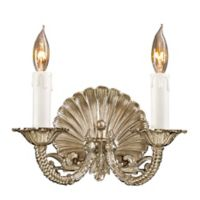 Metropolitan® Family Collection 2-Light Wall Sconce in Polished Chrome w/ Lost Wax Cast Arms