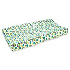 carter's® Owl Velboa Changing Pad Cover in Green/Grey