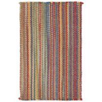 Capel Nags Head Striped 5-Foot x 8-Foot Bright Multicolor Area Rug