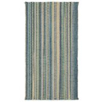 Capel Nags Head Striped 7-Foot x 9-Foot Area Rug in Caribbean