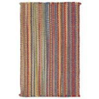 Capel Nags Head Striped 8-Foot x 11-Foot Bright Multicolor Area Rug