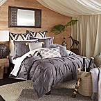 Blissliving® Home Harper Reversible Duvet Cover Set in Pewter