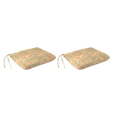 Charmed Life Dining Chair Pads In Multi Set Of 2
