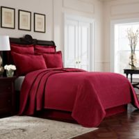 Williamsburg Richmond Queen Coverlet in Red