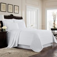 Williamsburg Richmond King Coverlet in White