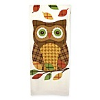 Plaid Owl Dual Purpose Kitchen Towel