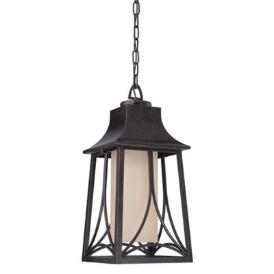 quoizel hunter 19inch hanging lantern in imperial bronze