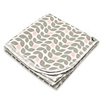 kushies® Cotton Flannel Receiving Blanket in Petal Grey