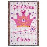 """Princess"" Throw Blanket"