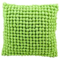Mina Victory™ 20-Inch PomPom Square Throw Pillow in Green