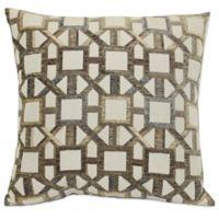 Slingback 20-Inch Square Throw Pillow in Desert