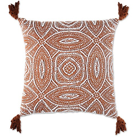 Outdoor Throw Pillows Kmart : Austin Adobe Square Throw Pillow - Bed Bath & Beyond