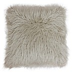 Keller 20-Inch x 20-Inch Mongolian Faux Fur Throw Pillow