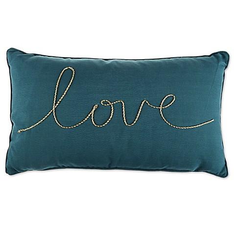 Throw Pillow Rectangle : Thro Love Rope Rectangle Throw Pillow - Bed Bath & Beyond