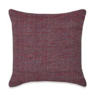 Puzzle Square Throw Pillow in Rust