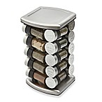 Olde Thompson 20 Jar Embossed Revolving Spice Rack