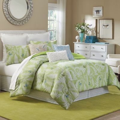mary janeu0027s home enchanting grove king comforter set in green