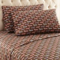 Micro Flannel® Printed Queen Sheet Set in Best in Show