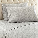 Micro Flannel® Enchantment Queen Sheet Set in Grey