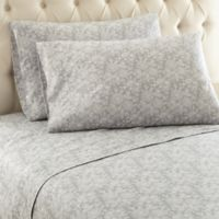 Micro Flannel® Enchantment Queen Sheet Set in Gray