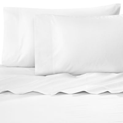 Williamsburg 400 Thread Count Twin Sheet Set In White