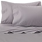 Williamsburg 400-Thread-Count Queen Sheet Set in Grey