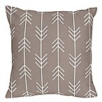 Sweet Jojo Outdoor Adventure Arrow Throw Pillows in Stone (Set of 2)