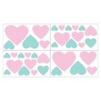 Sweet Jojo Designs Skylar Heart Wall Decals