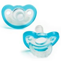 Razbaby® JollyPop® 3-36M 2-Pack Silicone Pacifiers in Blue